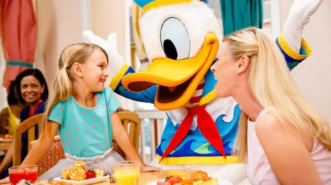 Cape May Cafe Character Dining at Walt Disney World