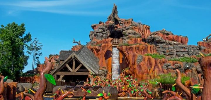 Splash Mountain is one of the three Magic Kingdom Mountains