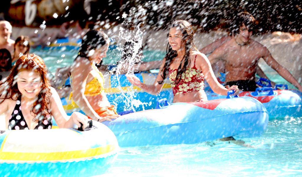 Visiting Typhoon Lagoon and Blizzard Beach are great ways to staying cool at Disney World