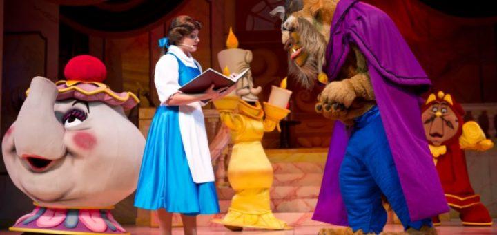 Beauty and the Beast at Walt Disney World