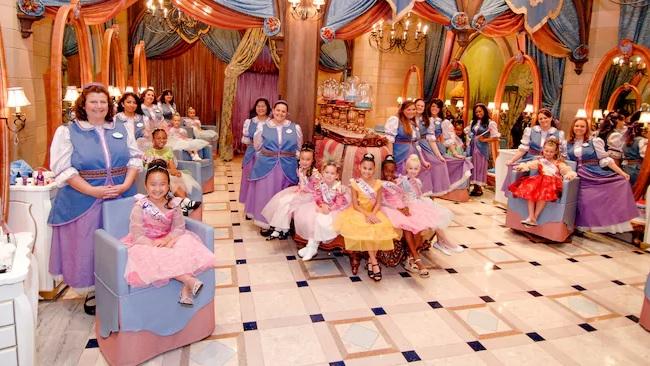 Bibbidi Bobbidi Boutique at Walt Disney World