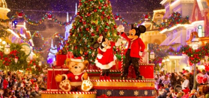 christmas in walt disney world - When Does Disneyworld Decorate For Christmas