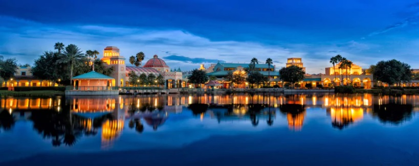 Disney's Coronado Springs Resort is beautiful