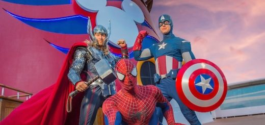Marvel Day at Sea aboard Disney Cruise Line