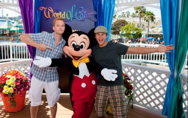Neil Patrick Harris is a big Disney fan