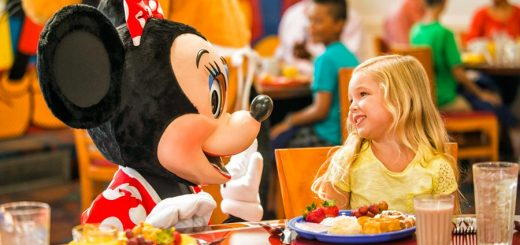 Character Dining at Walt Disney World