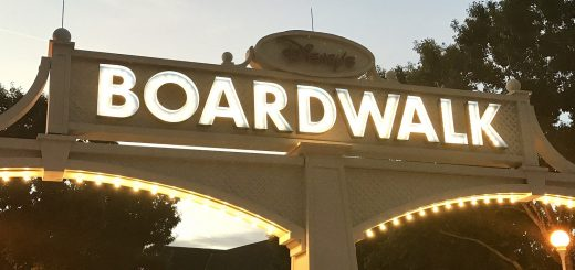 Disney's Boardwalk area