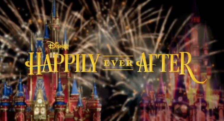 Magic Kingdom's Happily Ever After Fireworks Desert Party