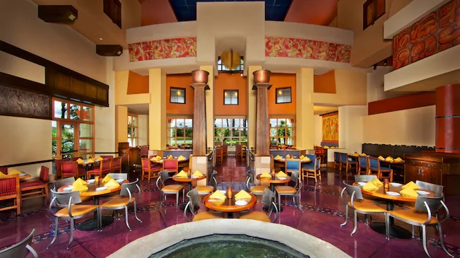 Maya Grill at Coronado Springs in Walt Disney World