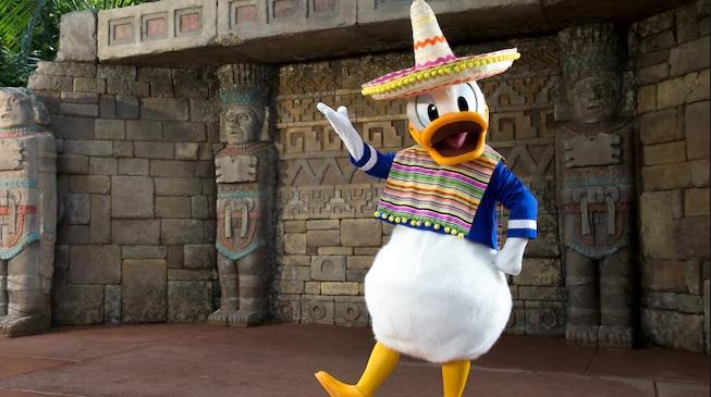 Mexican food at Disney