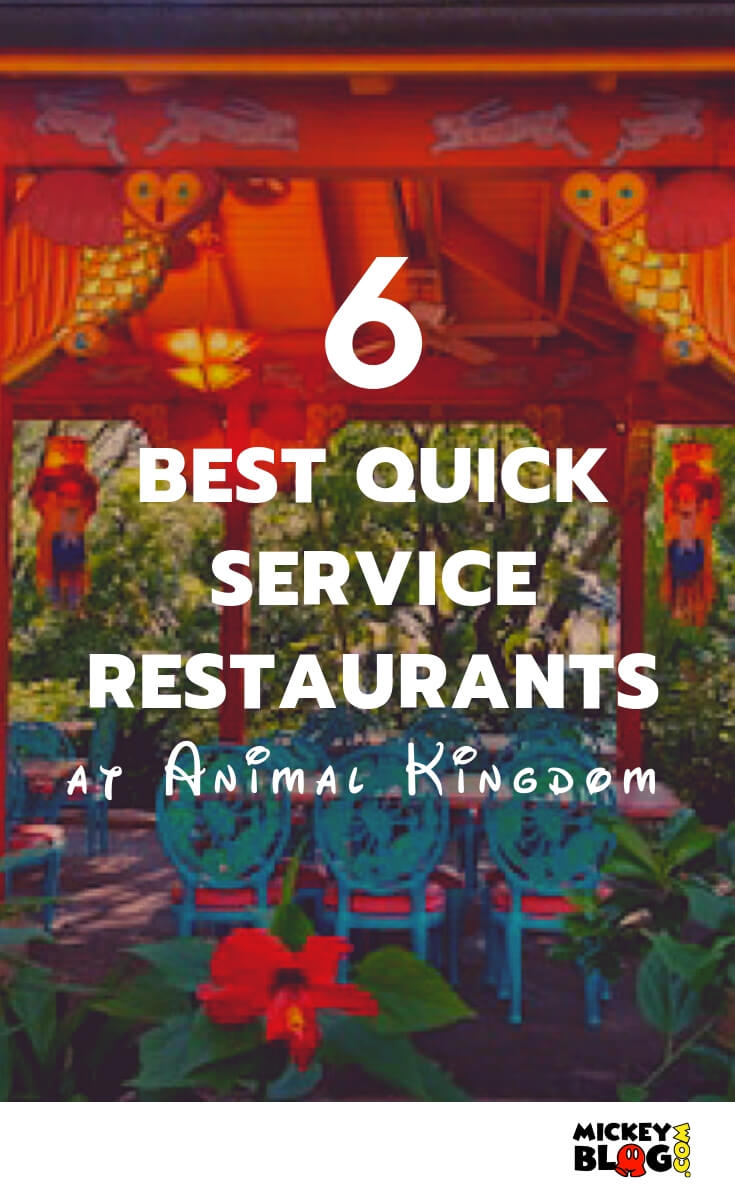 6 Best Quick Service Restaurants in Animal Kingdom