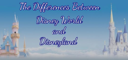 Differences between Disney World and Disneyland