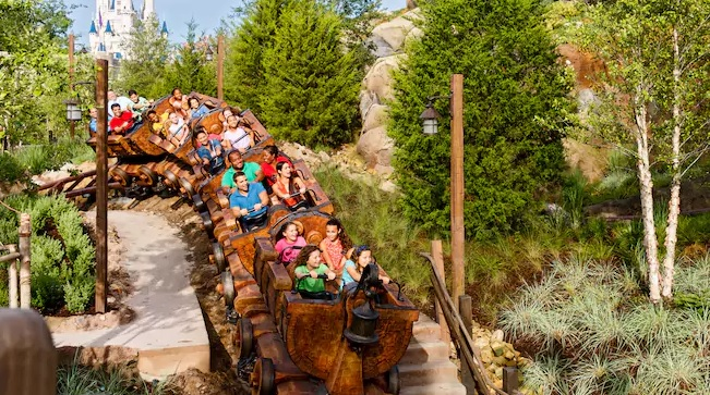 Facts about Seven Dwarfs Mine Train