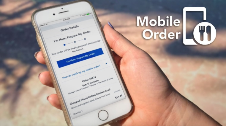 Disney's New Mobile Order Feature