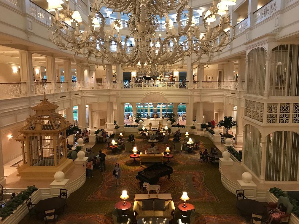 Disney's Grand Floridian lobby
