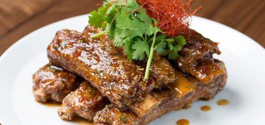 Pork Spare Ribs at Morimoto Asia