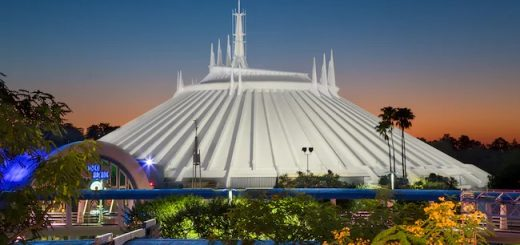 Space Mountain at Disney