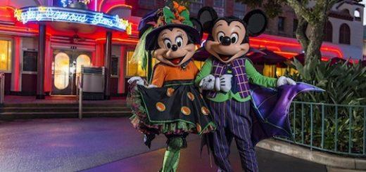 Halowwen Mickey Minnie