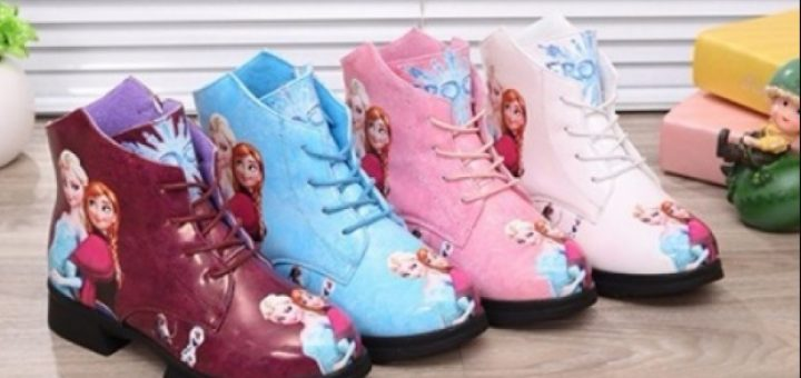 Disney-themed boots