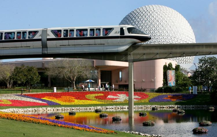 Monorail at Walt Disney World