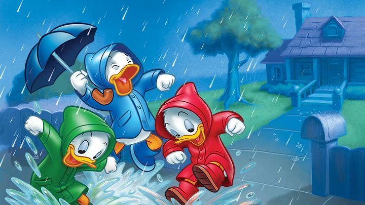 rainy day at Disney world