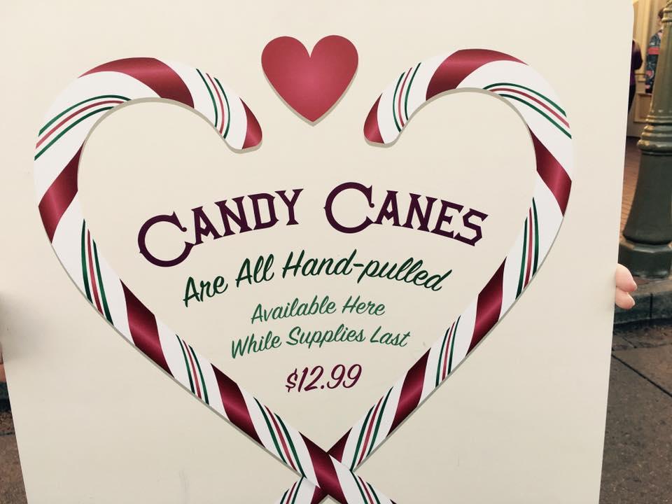 Disneyland Candy Canes