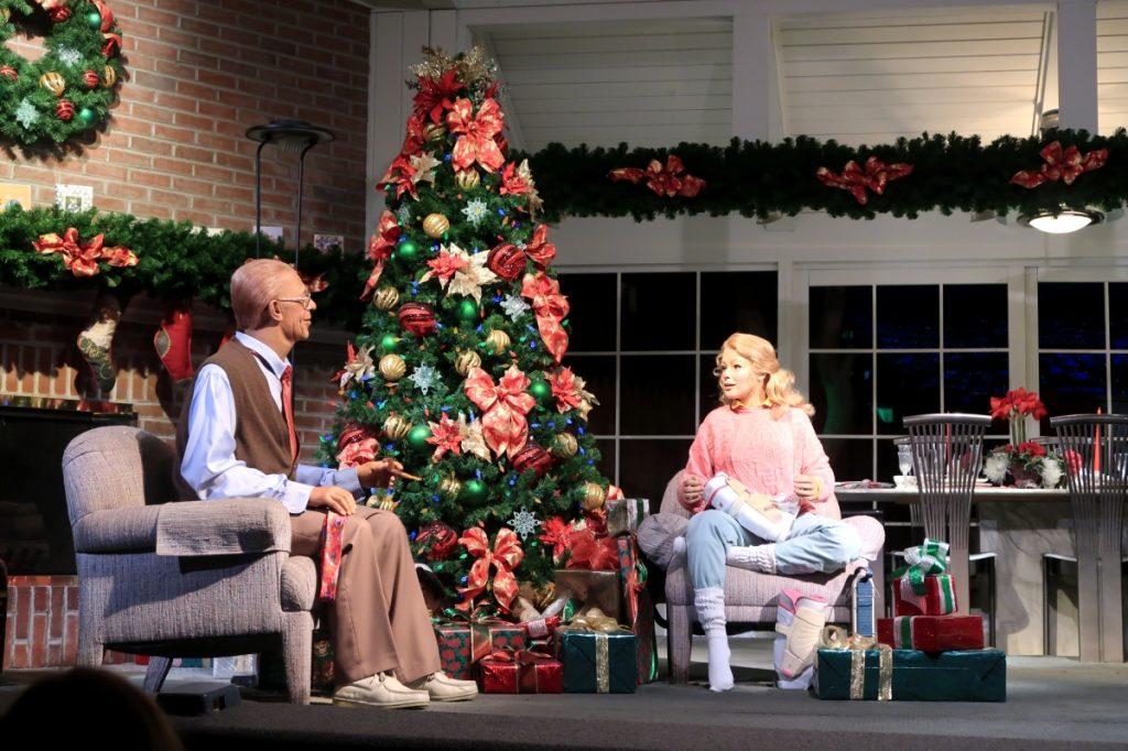Carousel of Progress Christmas Scene