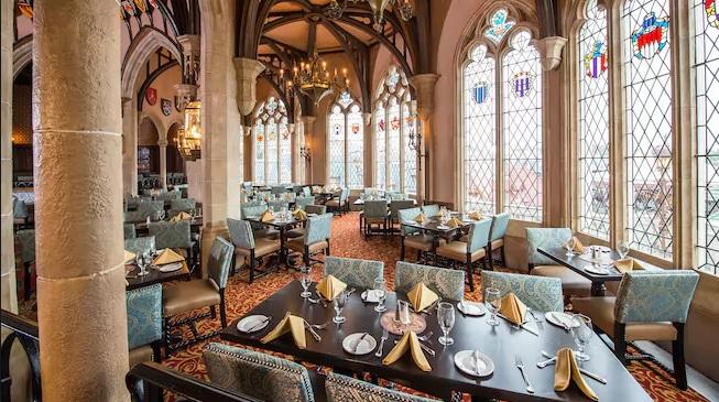 Cinderella's Royal Table at Disney