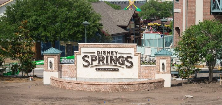 Disney Springs open