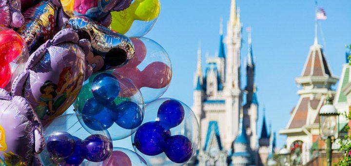 visiting Disney