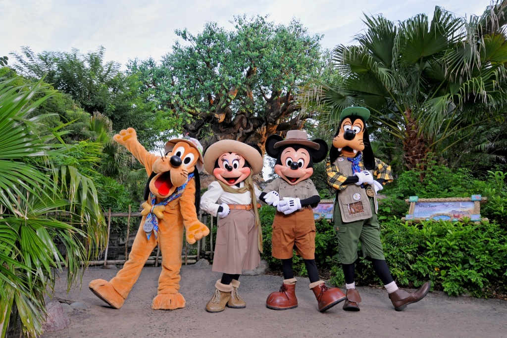 Disney's Animal Kingdom attractions
