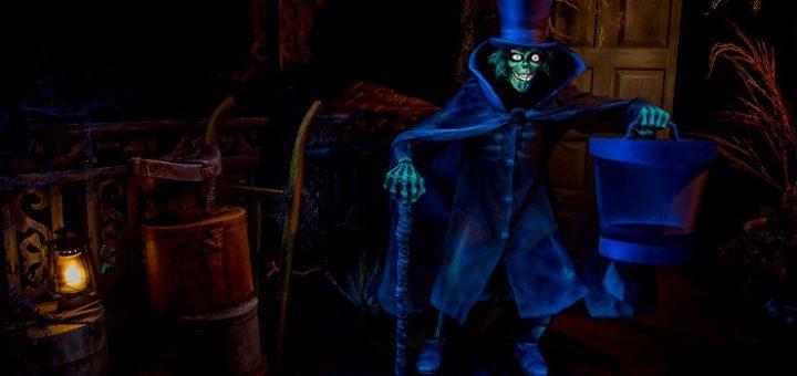 Haunted Mansion Hatbox Ghost