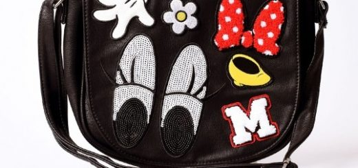 Loungewear Minnie Mouse Saddle bag