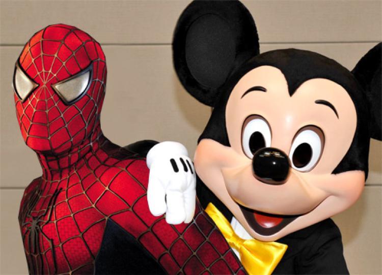 Mickey Spiderman