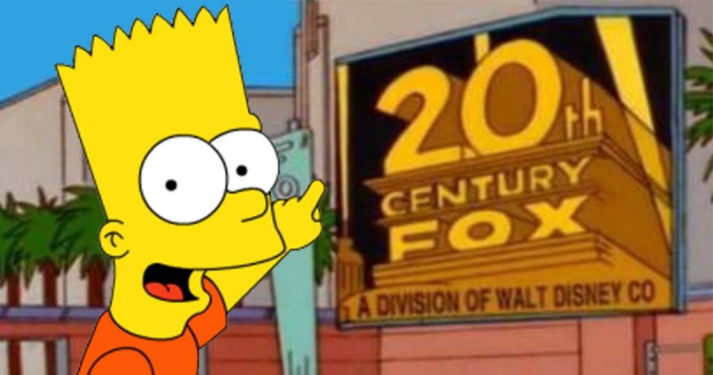 Simpsons Disney, The Simpsons