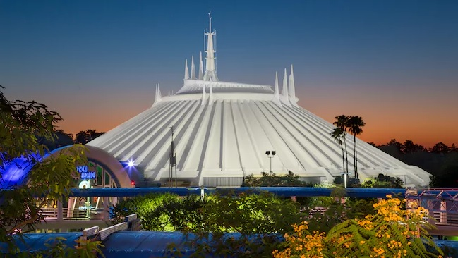 Space Mountain Walt Disney World