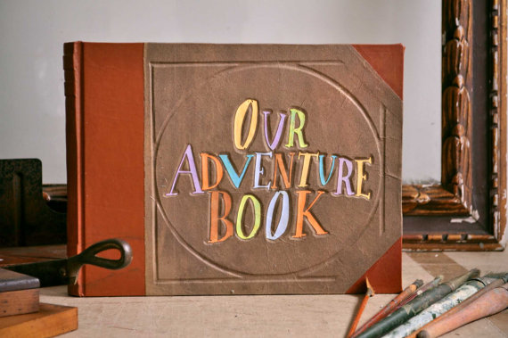 Up Our Adventure Book