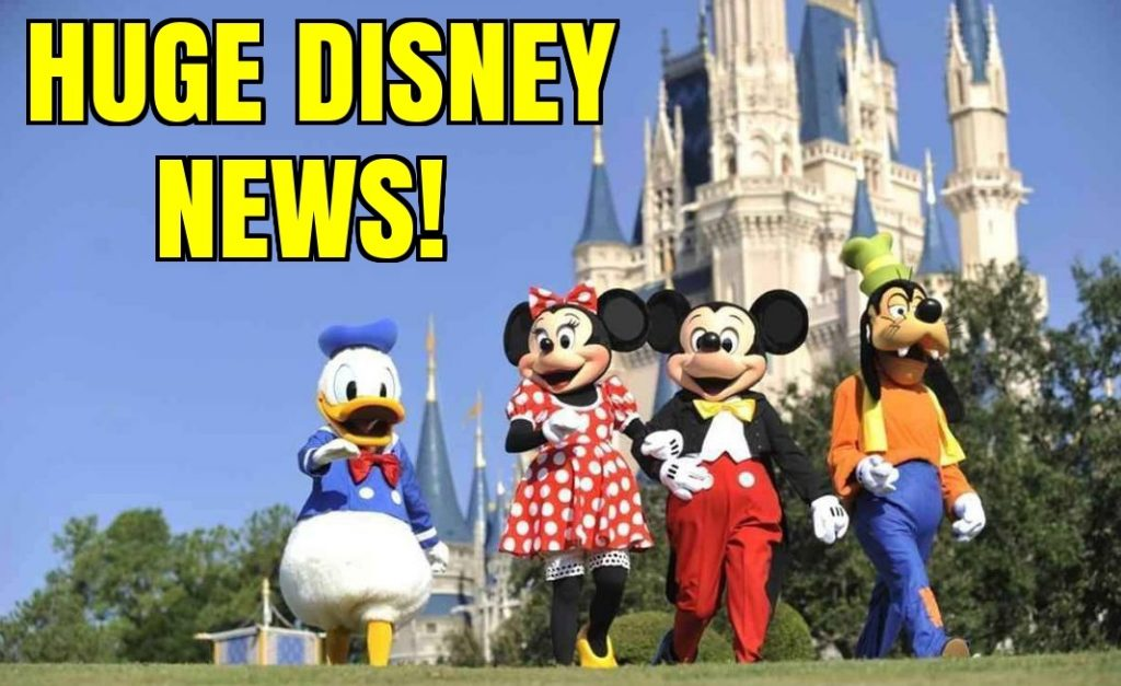 Huge Disney News