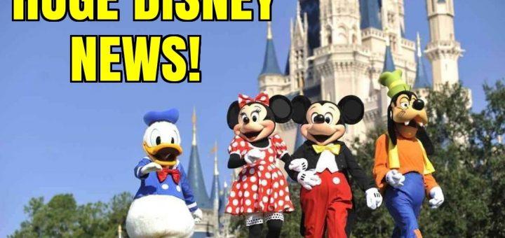 Huge Disney News