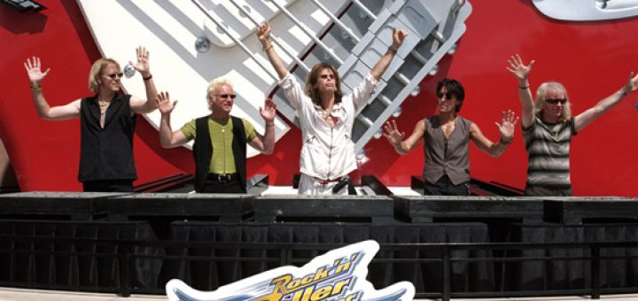 Aerosmith Rock 'n' roller coaster