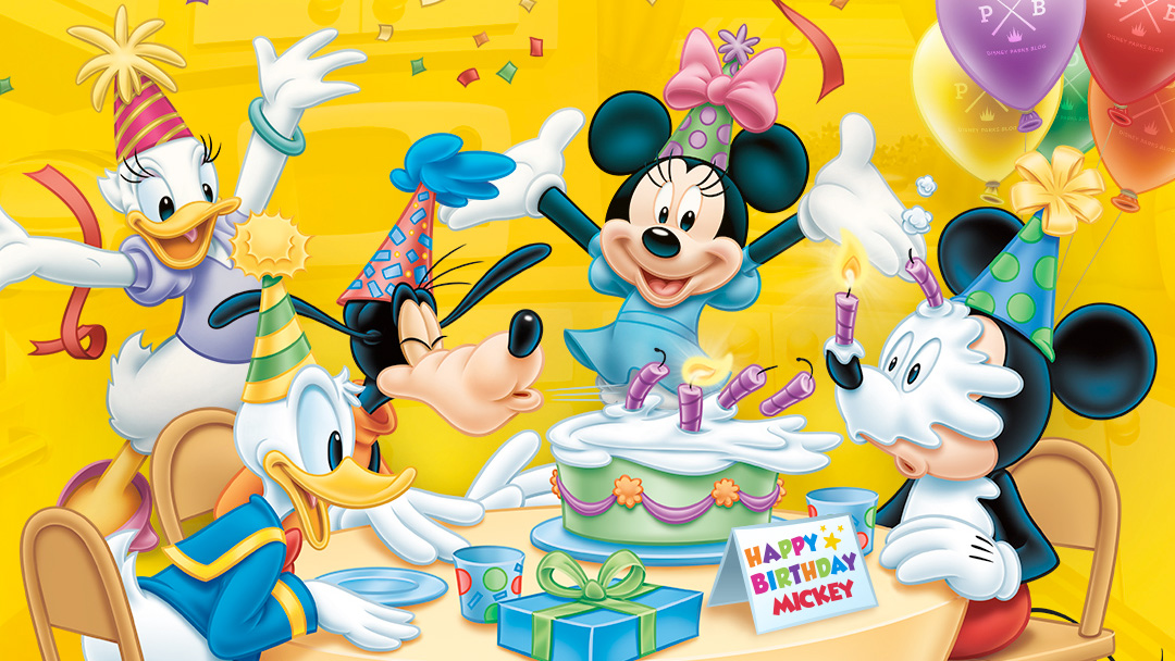 DisneyThemed Birthday Ideas MickeyBlogcom
