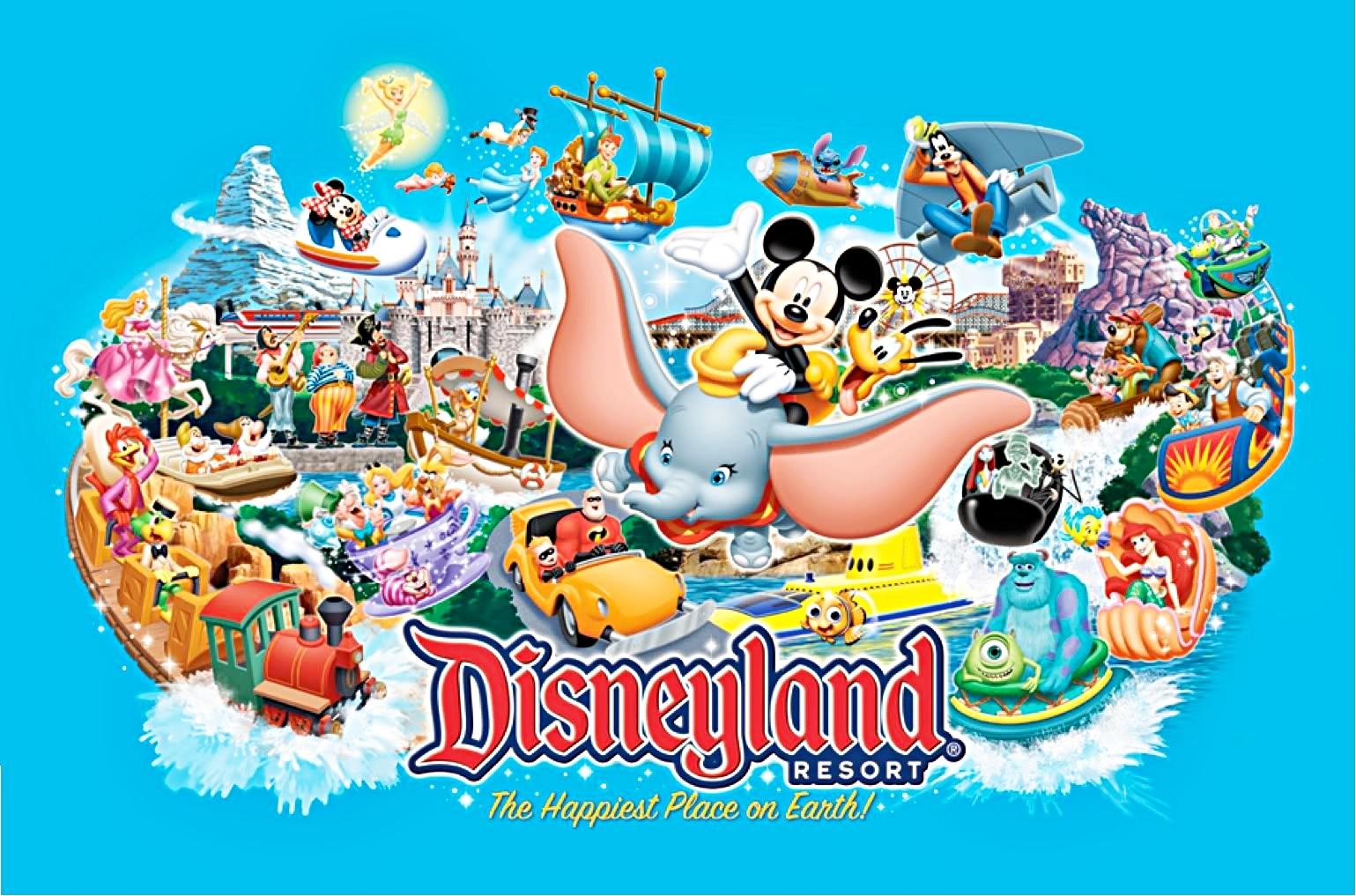 Free Disney Summer Wallpaper: Comparing Disneyland Resorts