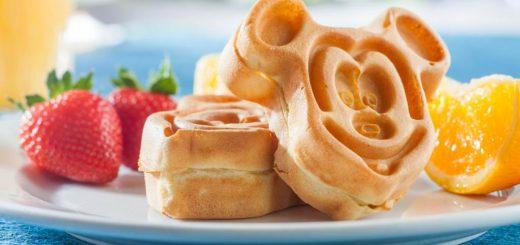 waffles at Walt Disney World