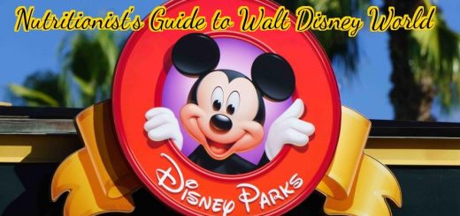 Nutritionist's Guide to Walt Disney World