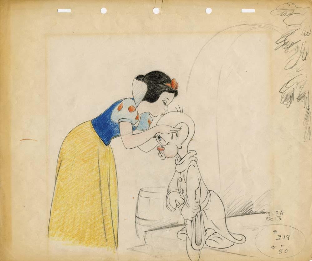 Original Snow White sketches