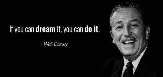 Walt Disney Inspiring Quotes