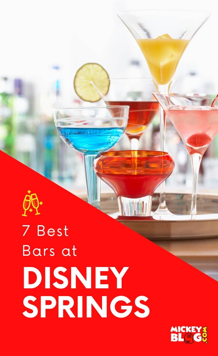 7 Best Bars at Disney Springs
