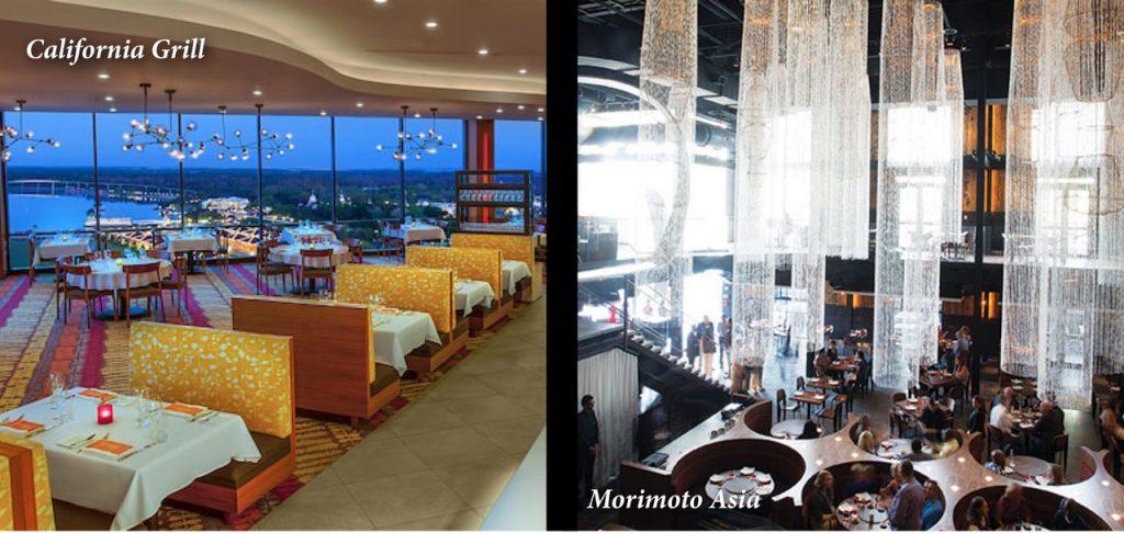California Grill Morimoto Asia