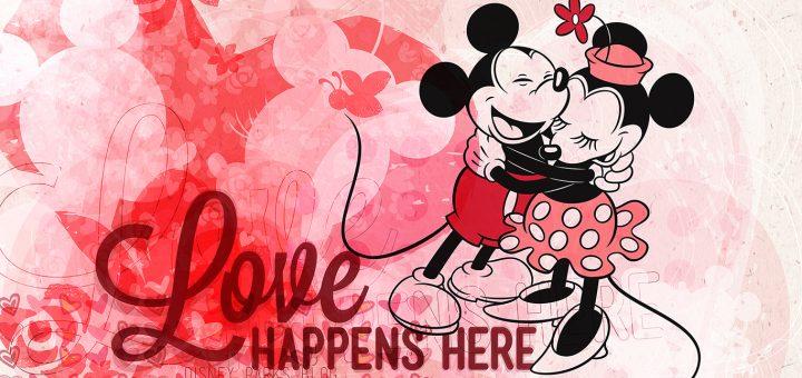 Disney Couples Valentine's Day at Disney World
