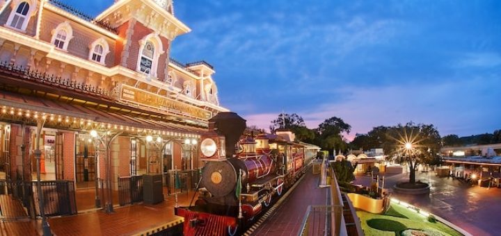 Disney World Trains